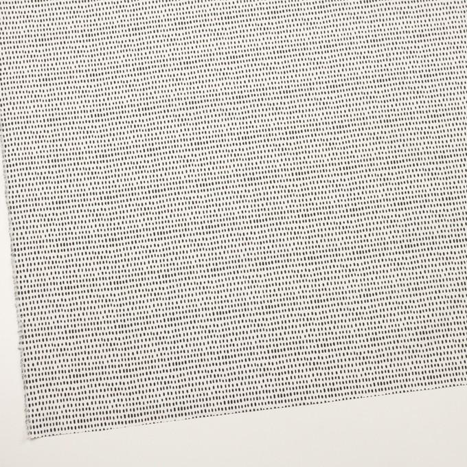 コットン×ドロップ(オフホワイト&ブラック)×ブロード イメージ2