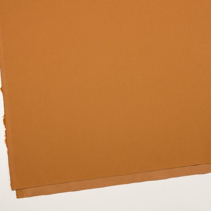 コットン&ポリウレタン×ドット(キャラメル)×ドビーストレッチ イメージ2
