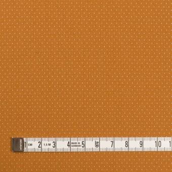 コットン&ポリウレタン×ドット(キャラメル)×ドビーストレッチ サムネイル4