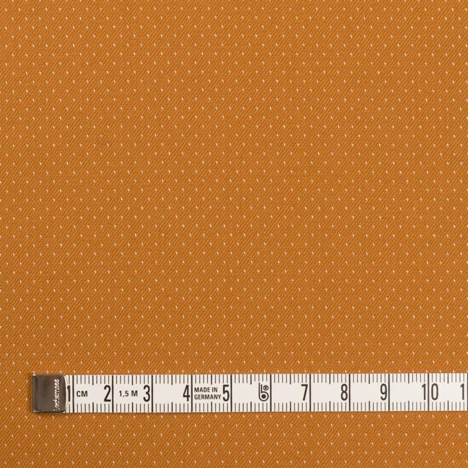 コットン&ポリウレタン×ドット(キャラメル)×ドビーストレッチ イメージ4