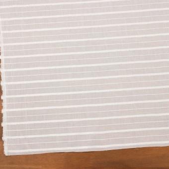 コットン&レーヨン×ボーダー(パールホワイト)×ボイルジャガード サムネイル2