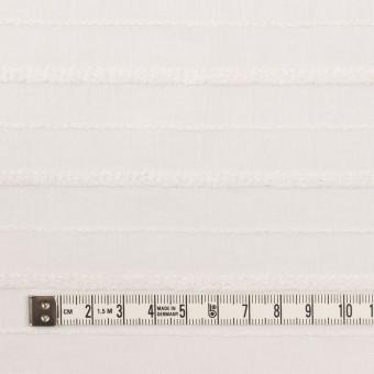 コットン&レーヨン×ボーダー(パールホワイト)×ボイルジャガード サムネイル4