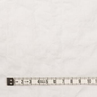 コットン&ポリウレタン×無地(オフホワイト)×ボイルシャーリング サムネイル4