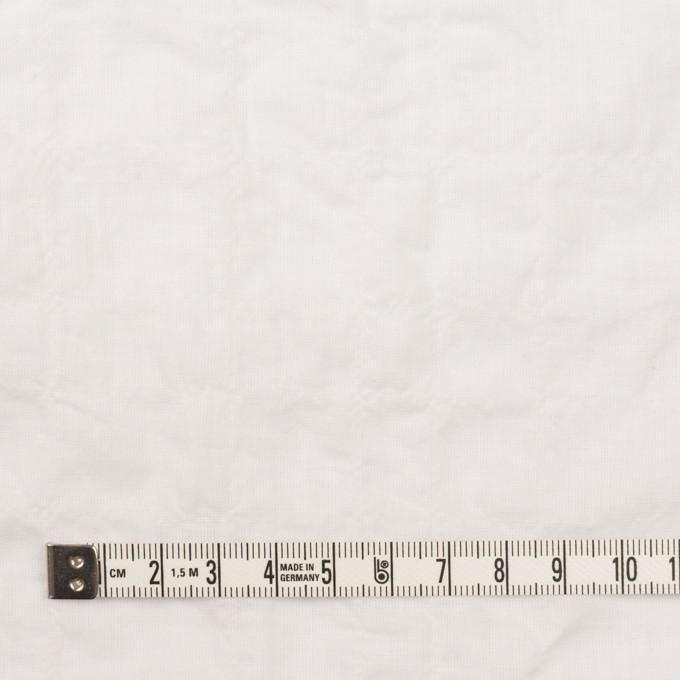 コットン&ポリウレタン×無地(オフホワイト)×ボイルシャーリング イメージ4