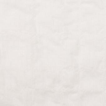 コットン&ポリウレタン×無地(オフホワイト)×ボイルシャーリング