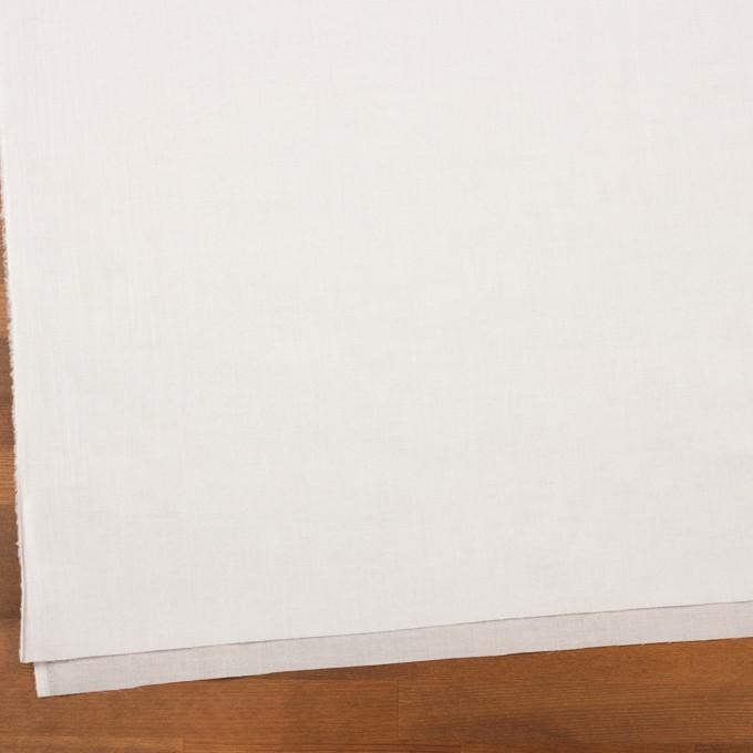 コットン×無地(オフホワイト)×ボイルワッシャー イメージ2