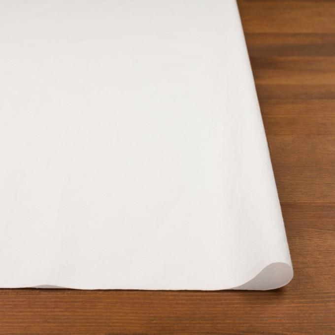 コットン×無地(オフホワイト)×タイプライター(高密ローン)・ワッシャー イメージ3