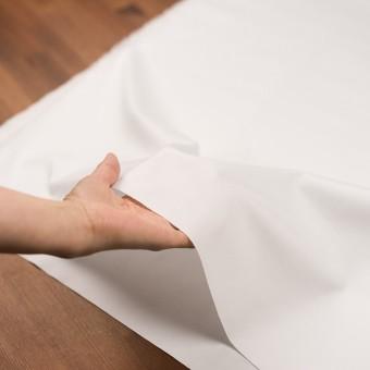 コットン×無地(ホワイト)×斜子織 サムネイル5