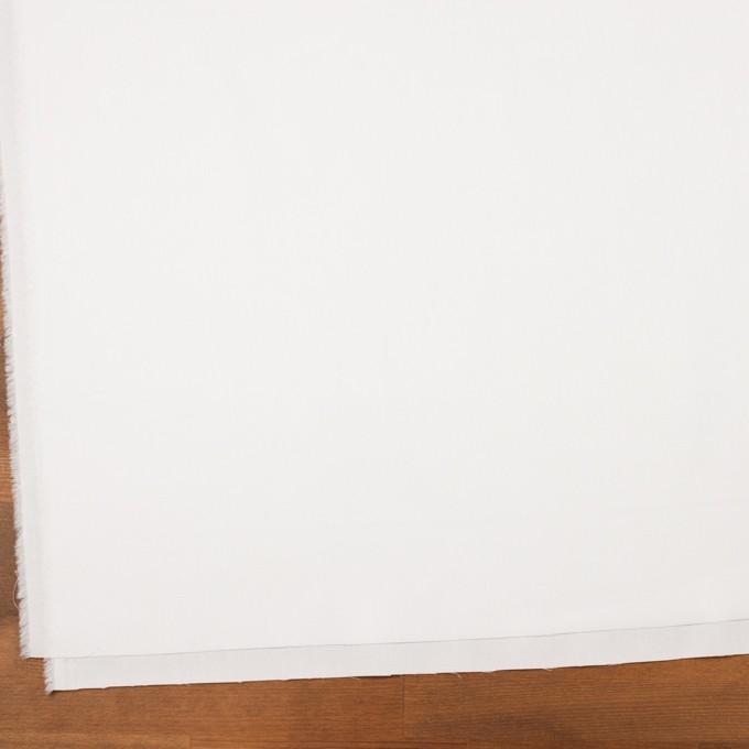 コットン×無地(ホワイト)×斜子織 イメージ2