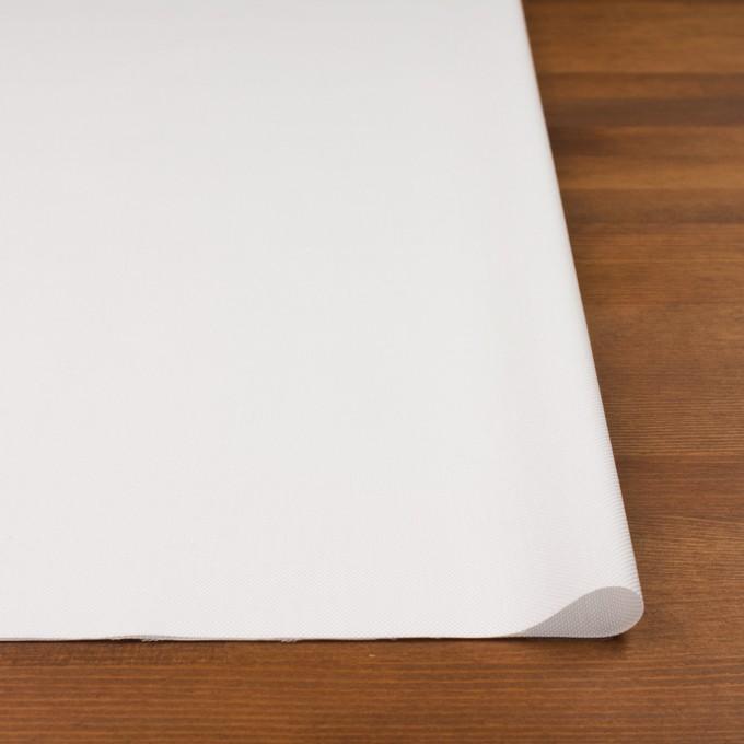 コットン×無地(ホワイト)×斜子織 イメージ3