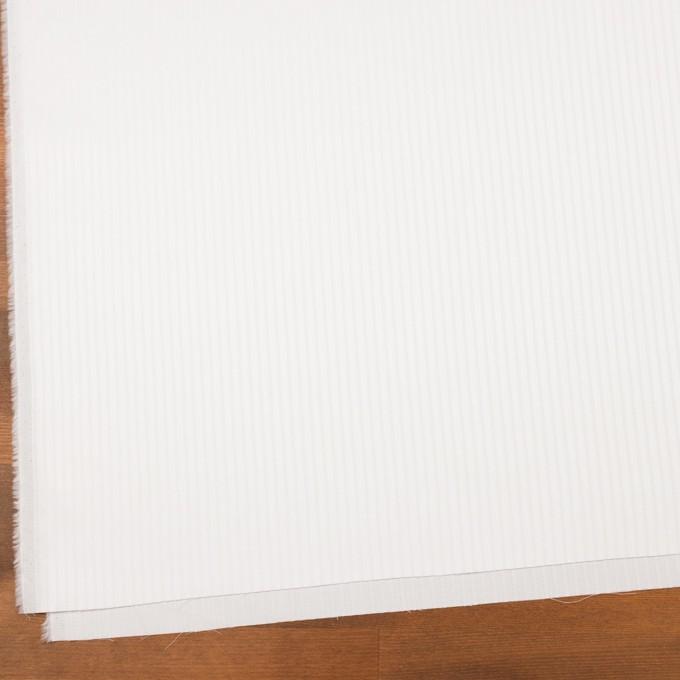 コットン×ストライプ(ホワイト)×サージジャガード イメージ2