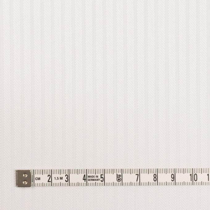 コットン×ストライプ(ホワイト)×サージジャガード イメージ4