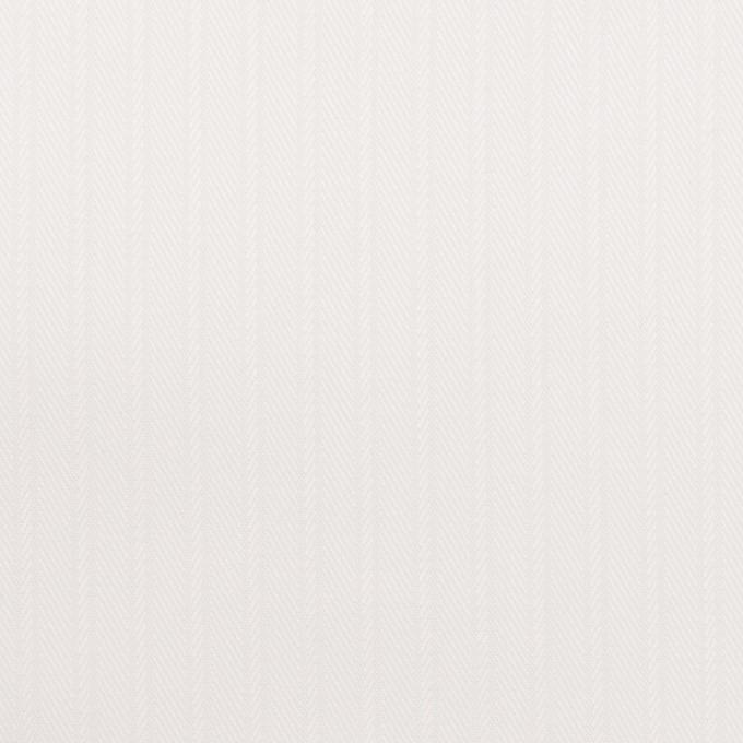 コットン×ストライプ(ホワイト)×サージジャガード イメージ1