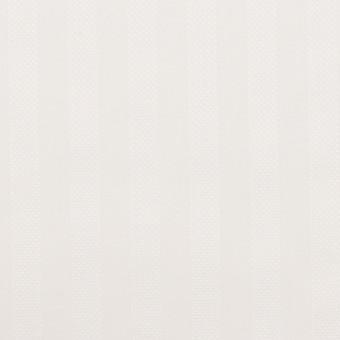 コットン×ストライプ(ミルクホワイト)×ブロードジャガード サムネイル1
