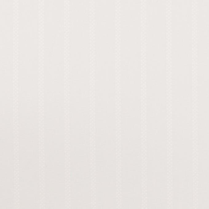 コットン×ストライプ(ミルクホワイト)×ブロードジャガード イメージ1