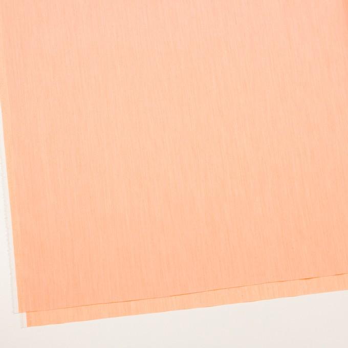コットン&ナイロン混×無地(オレンジ)×シャンブレー・ローンストレッチ_全8色 イメージ2