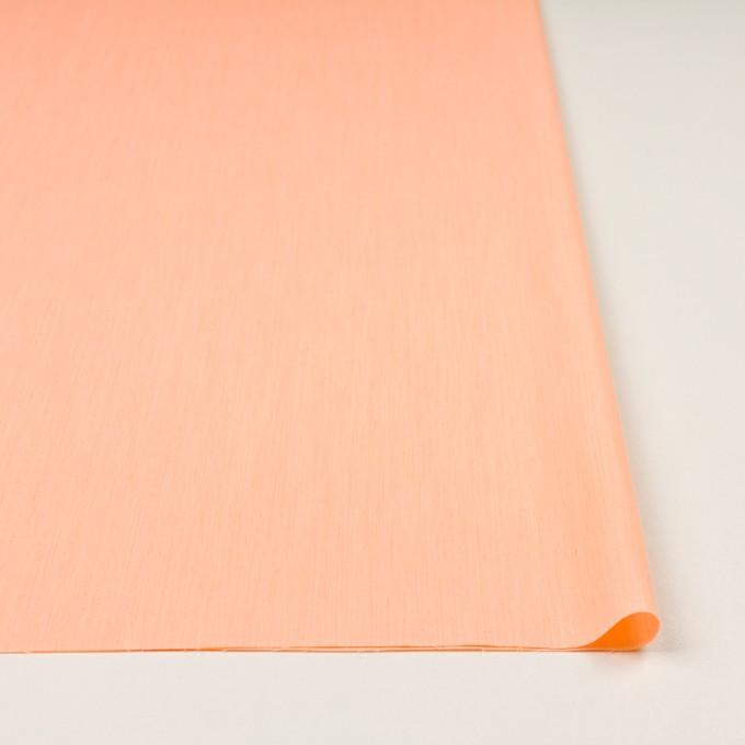 コットン&ナイロン混×無地(オレンジ)×シャンブレー・ローンストレッチ_全8色 イメージ3