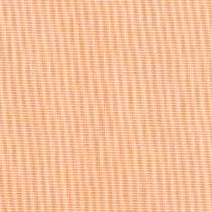 コットン&ナイロン混×無地(オレンジ)×シャンブレー・ローンストレッチ_全8色 イメージ1