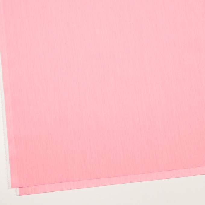 コットン&ナイロン混×無地(ピンク)×シャンブレー・ローンストレッチ_全8色 イメージ2