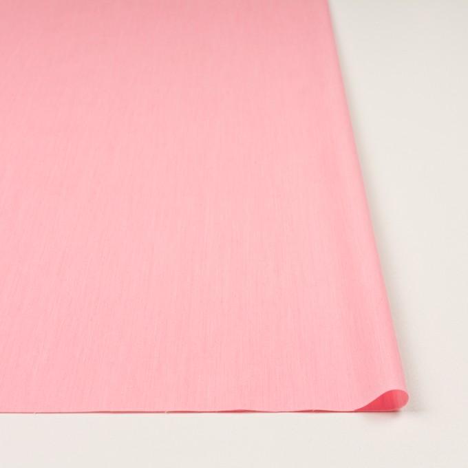 コットン&ナイロン混×無地(ピンク)×シャンブレー・ローンストレッチ_全8色 イメージ3