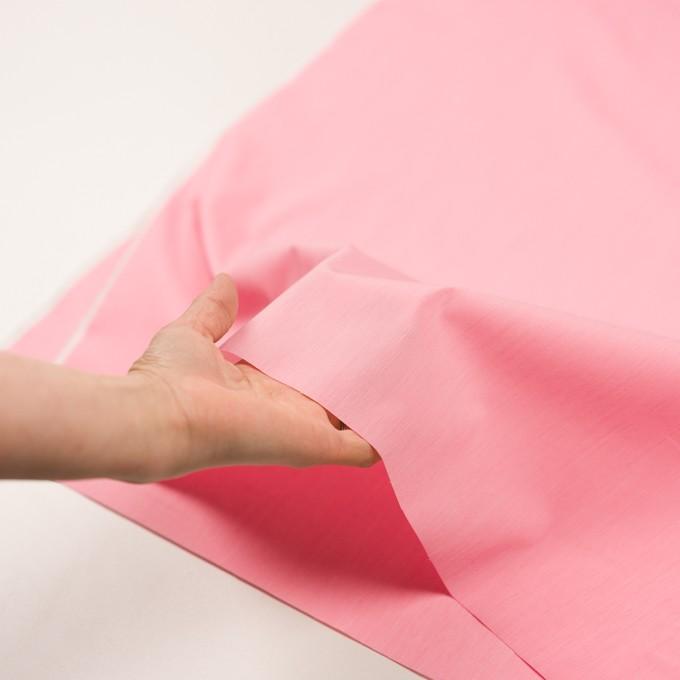コットン&ナイロン混×無地(ピンク)×シャンブレー・ローンストレッチ_全8色 イメージ5