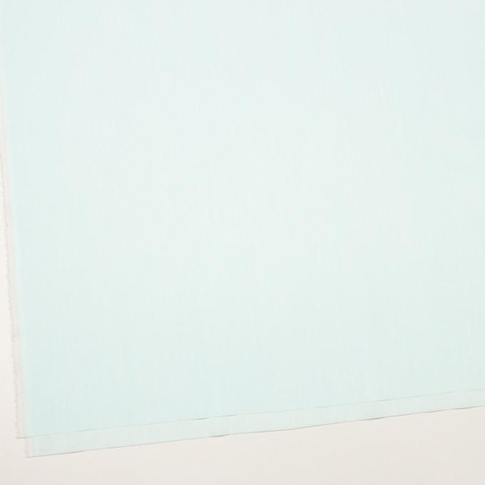コットン&ナイロン混×無地(シャーベットグリーン)×シャンブレー・ローンストレッチ_全8色 イメージ2
