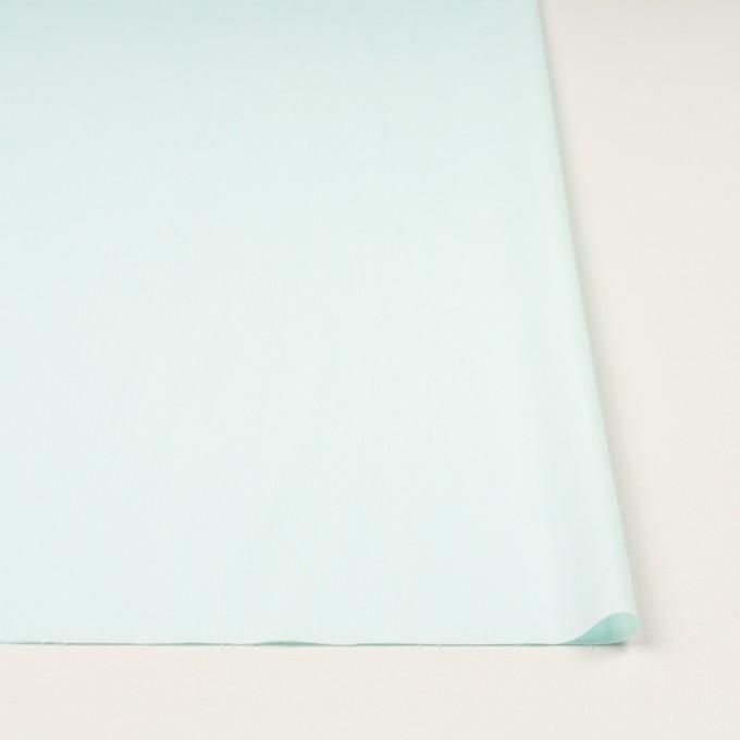 コットン&ナイロン混×無地(シャーベットグリーン)×シャンブレー・ローンストレッチ_全8色 イメージ3