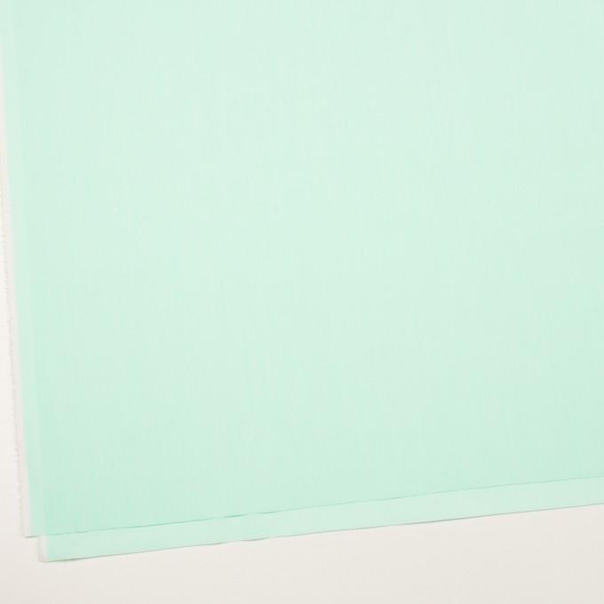 コットン&ナイロン混×無地(ミント)×シャンブレー・ローンストレッチ_全8色 イメージ2