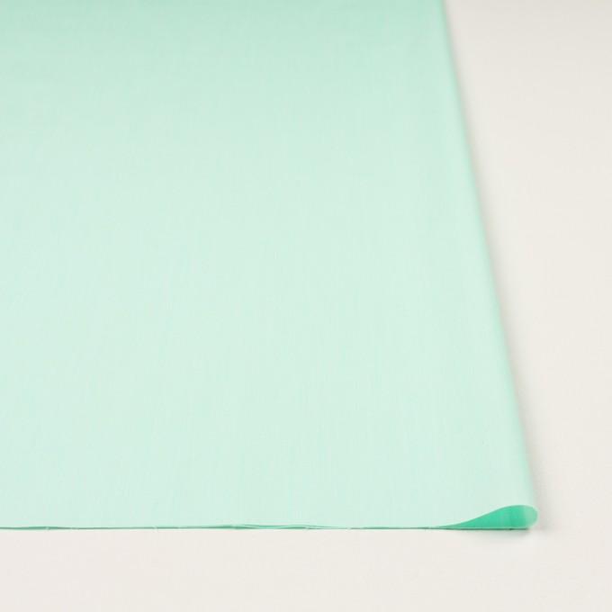 コットン&ナイロン混×無地(ミント)×シャンブレー・ローンストレッチ_全8色 イメージ3