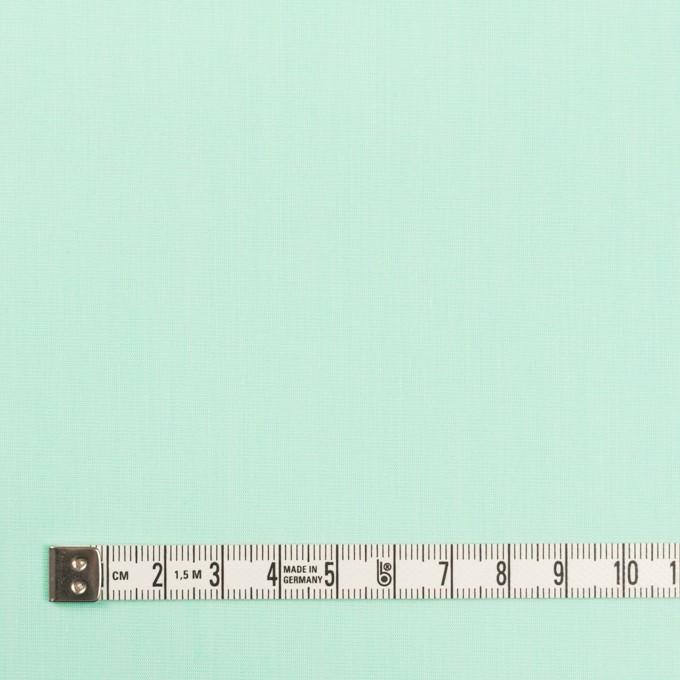 コットン&ナイロン混×無地(ミント)×シャンブレー・ローンストレッチ_全8色 イメージ4
