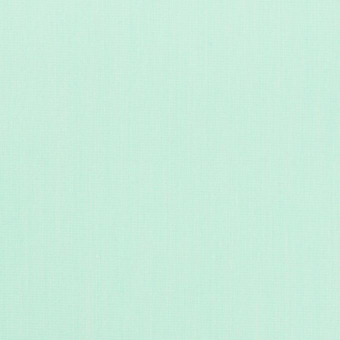 コットン&ナイロン混×無地(ミント)×シャンブレー・ローンストレッチ_全8色 イメージ1