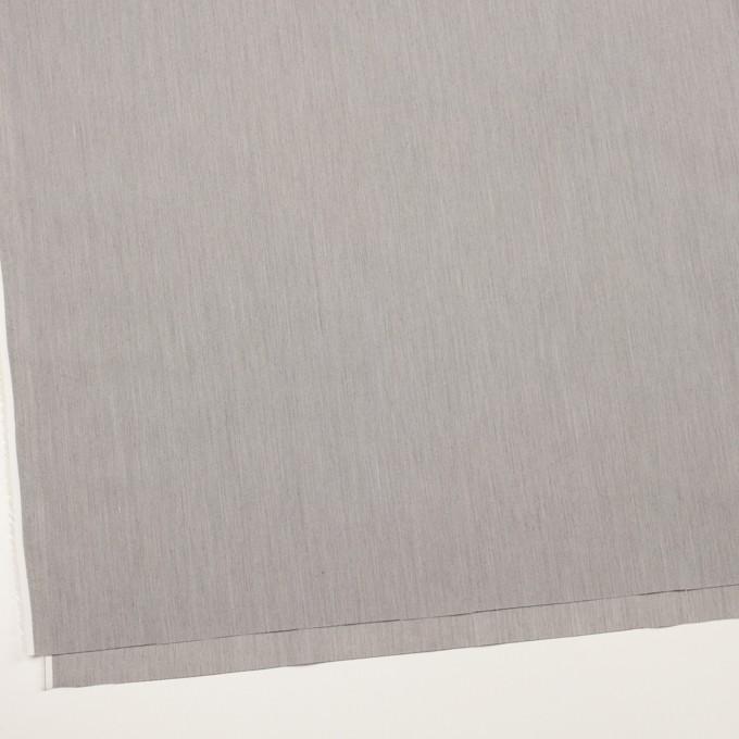 コットン&ナイロン混×無地(チャコールグレー)×シャンブレー・ローンストレッチ_全8色 イメージ2