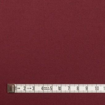 コットン&ポリウレタン×無地(バーガンディー)×チノクロス・ストレッチ サムネイル4