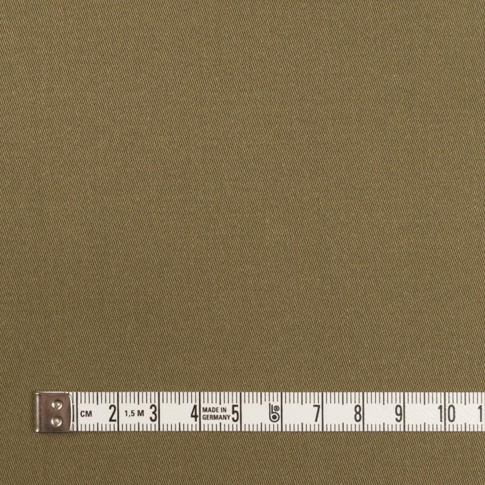 コットン×無地(アッシュカーキ)×二重織 イメージ4
