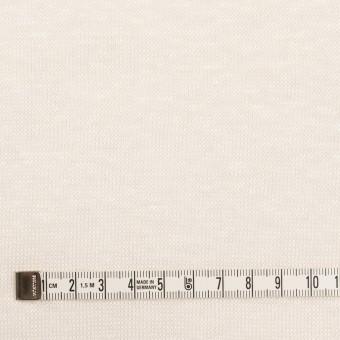 リネン&ナイロン×無地(バニラ)×天竺ニット_全3色 サムネイル4