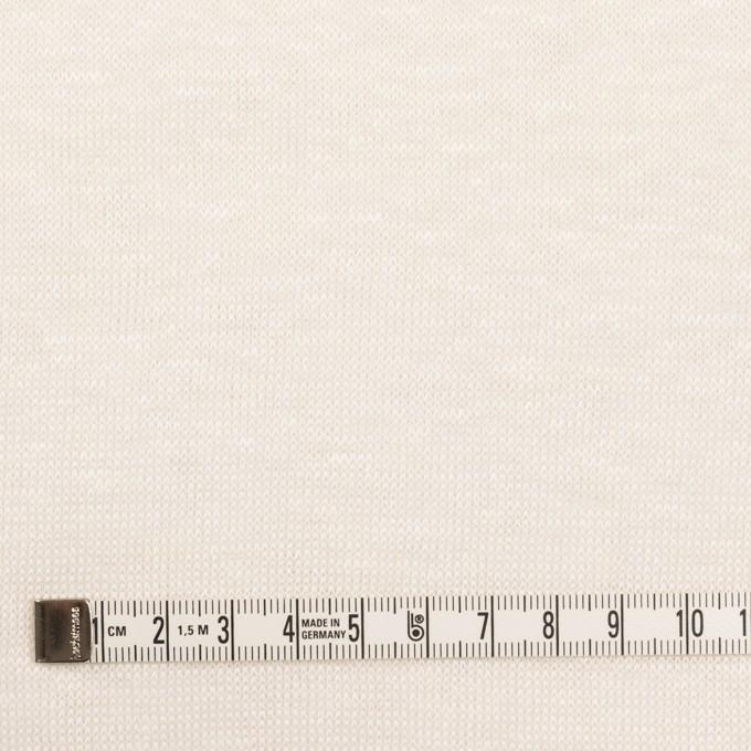 リネン&ナイロン×無地(バニラ)×天竺ニット_全3色 イメージ4