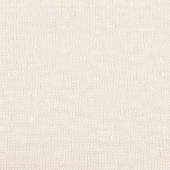 リネン&ナイロン×無地(バニラ)×天竺ニット_全3色