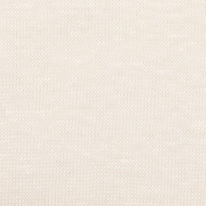 リネン&ナイロン×無地(バニラ)×天竺ニット_全3色 イメージ1