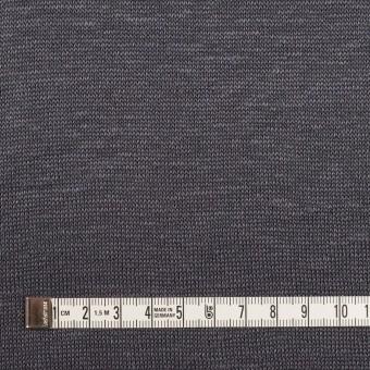 リネン&ナイロン×無地(ダブグレー)×天竺ニット_全3色 サムネイル4