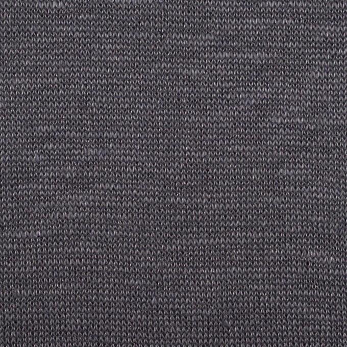 リネン&ナイロン×無地(ダブグレー)×天竺ニット_全3色 イメージ1