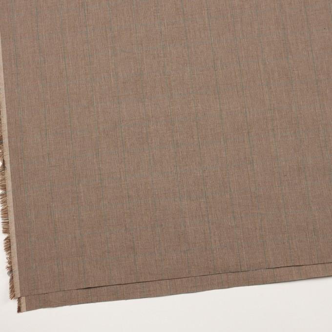 コットン×チェック(モカブラウン)×高密ブロード イメージ2