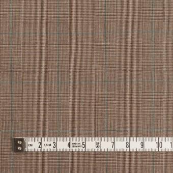 コットン×チェック(モカブラウン)×高密ブロード サムネイル4