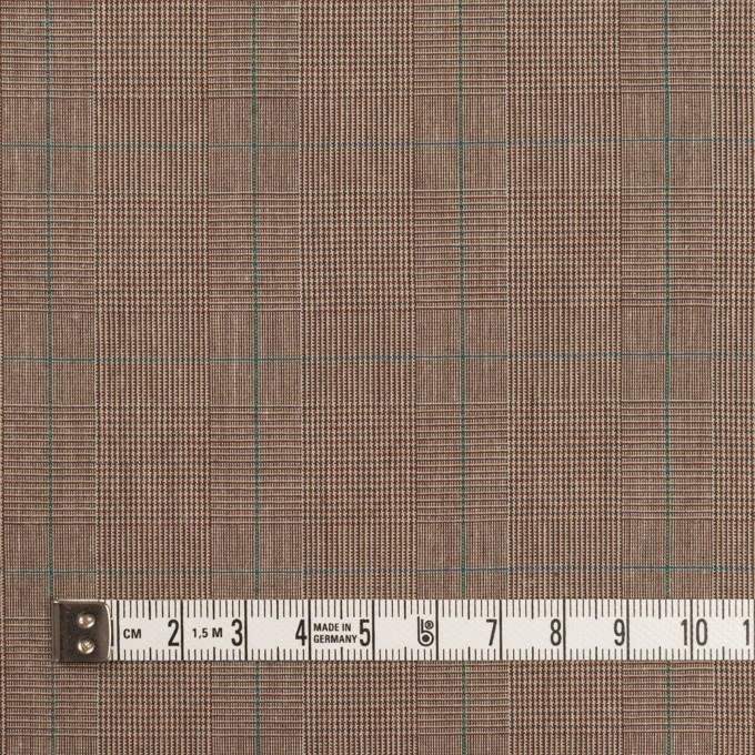 コットン×チェック(モカブラウン)×高密ブロード イメージ4
