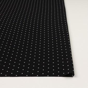 ポリエステル×ドット(ブラック)×ジョーゼット_全2色 サムネイル3
