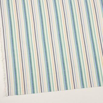コットン&リネン×ストライプ(エメラルド、サックス&ネイビー)×薄キャンバス・ジャガード サムネイル2