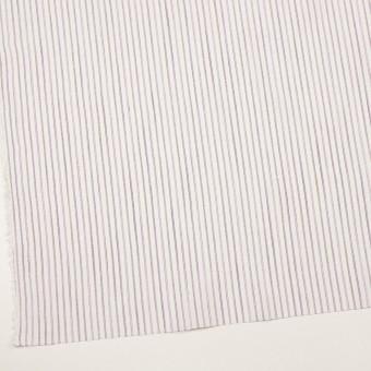コットン&リネン×ストライプ(モーブ)×薄キャンバス サムネイル2
