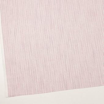 リネン&コットン×ストライプ(チェリーピンク)×薄キャンバス・ジャガード サムネイル2