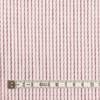 リネン&コットン×ストライプ(チェリーピンク)×薄キャンバス・ジャガード サムネイル4