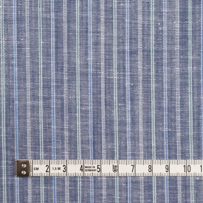 リネン&コットン×ストライプ(アッシュネイビー)×薄キャンバス イメージ4
