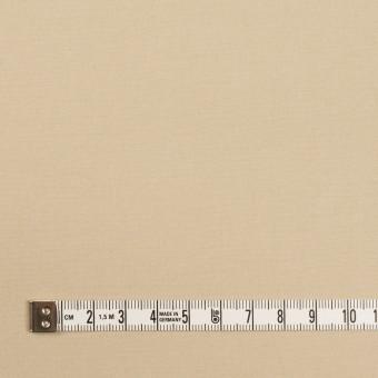 コットン×無地(ライトベージュ)×高密ポプリン サムネイル4